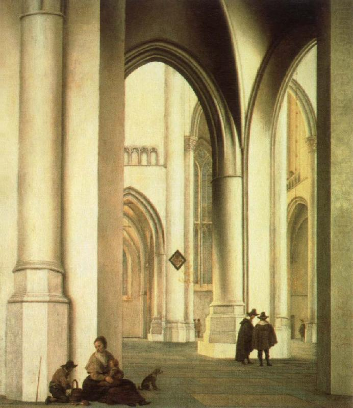 interior of the st.bavo church,haarlem, Pieter Jansz Saenredam